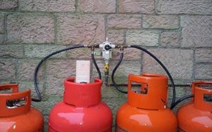 LPG Regulator Install