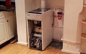 Interior Gas Boiler